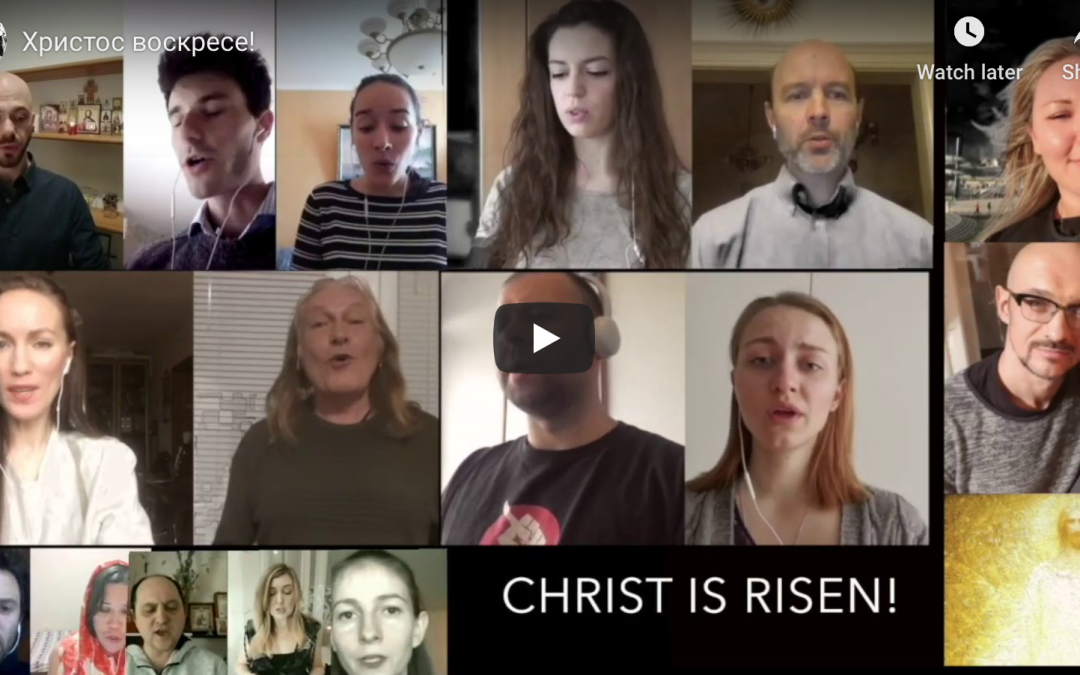 'Christ is Risen!' The Florence-based 'Corona Choir' Presents the Fruits of its Labours with a Musical Ensemble for Pascha
