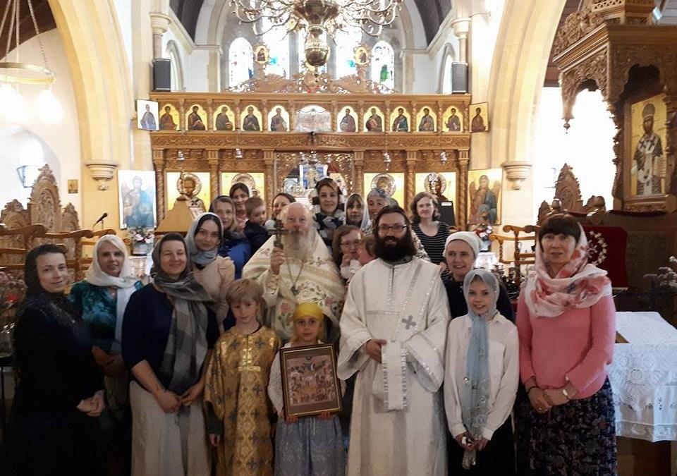 Altar Feast of the Cheltenham Parish Celebrated on 22nd July