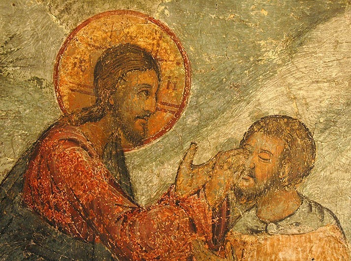 Проповедь священника Иоанна Чурина, в Берне – О слепом, Неделя 6-я по Пасхе