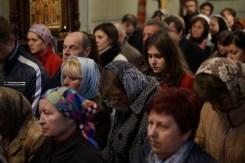 Licznie zebrani parafianie na Misterium namaszczenia olejem