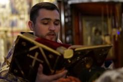 Ks. Jarosław Szczur czyta Ewangelię