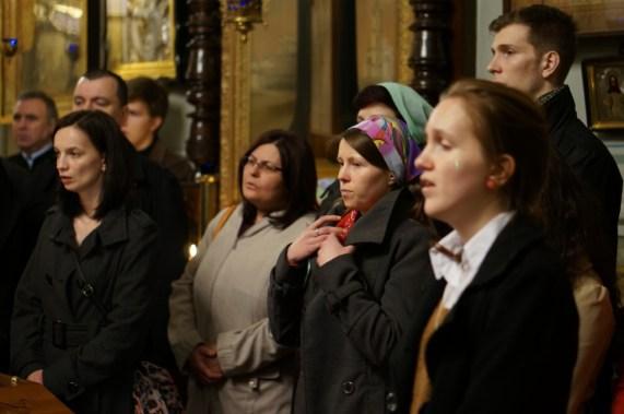 Chór parafiany pod dyrekcją kantora Andrzeja Boubleja