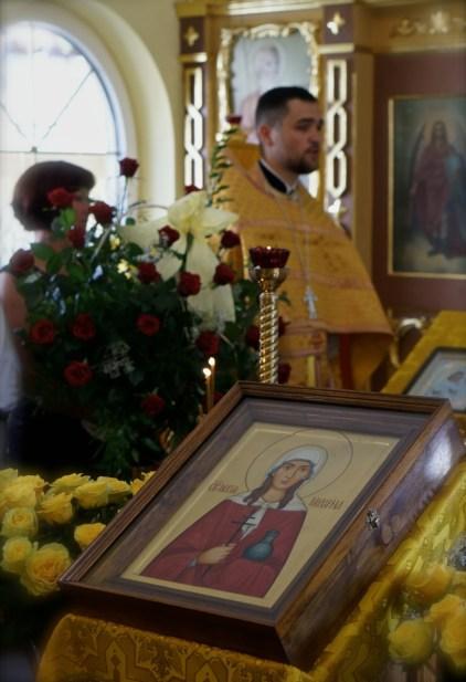 Ikona patronki puławskiej cerkwi - św. Marii Magdaleny