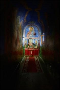 Grób z relikwiami świętego Romana