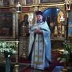 Kazanie głosi ks. Andrzej Mińko - proboszcz cerkwi pw. Zmartwychwstania Pańskiego w Bielsku Podlaskim