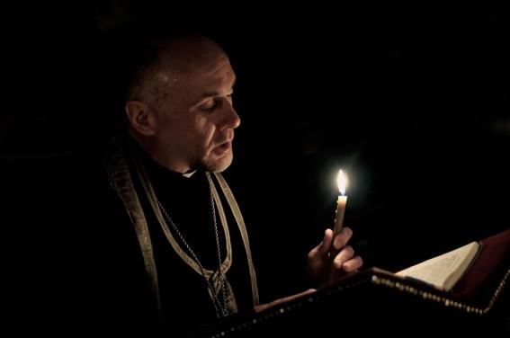 Kanon św. Andrzeja z Krety czyta ks. mitrat Andrzej Łoś
