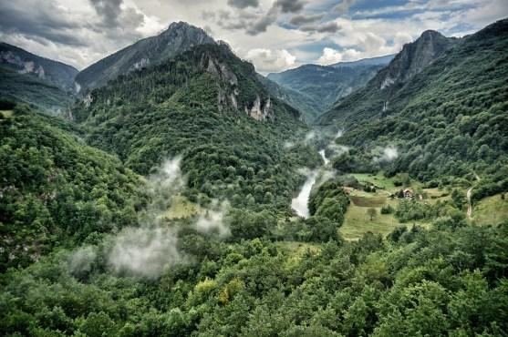 Dolina rzeki Tara