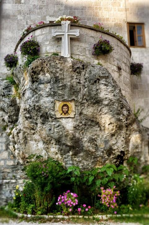 Zabudowania dolnego monasteru w Ostrogu
