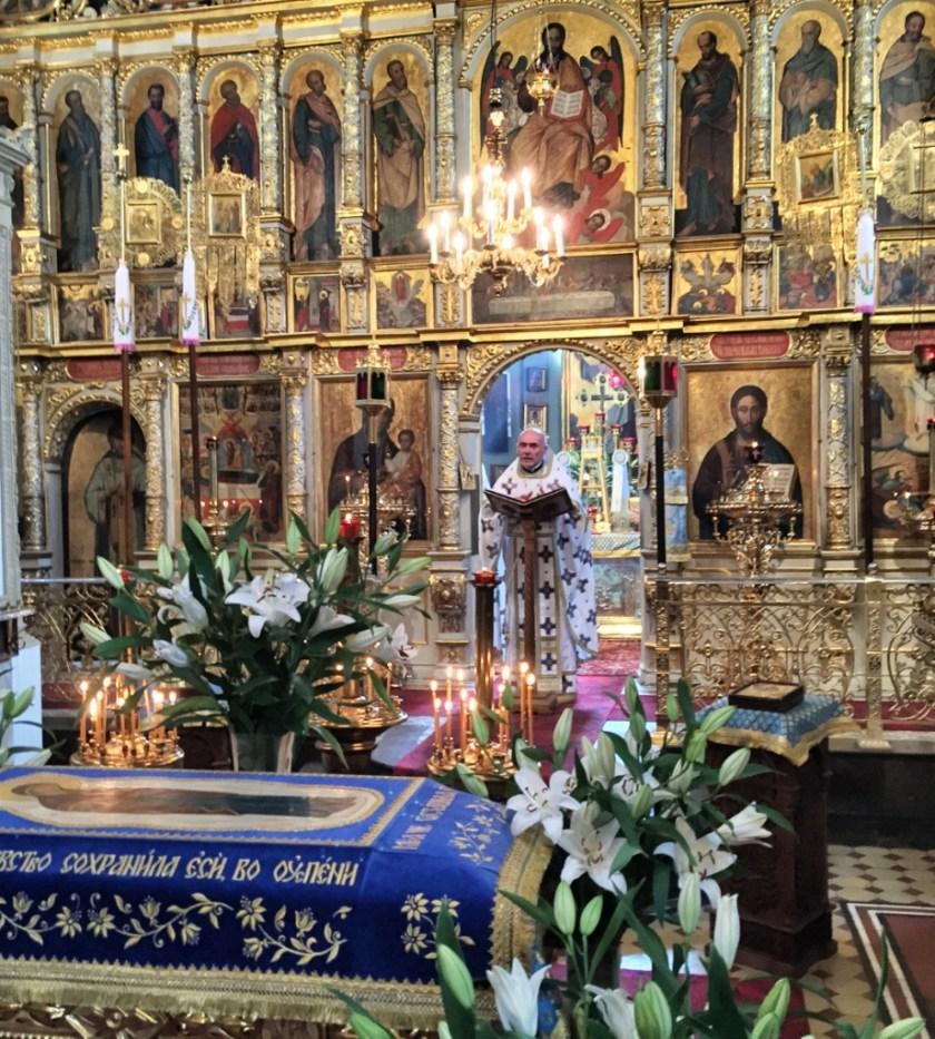 Kazanie w jedenastą niedzielę po Pięćdziesiątnicy głosi ks. mitrat  Andrzej Łoś