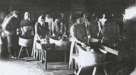 Praczki bieżenki, prace zorganizował Ogólnorosyjski Związek Miast
