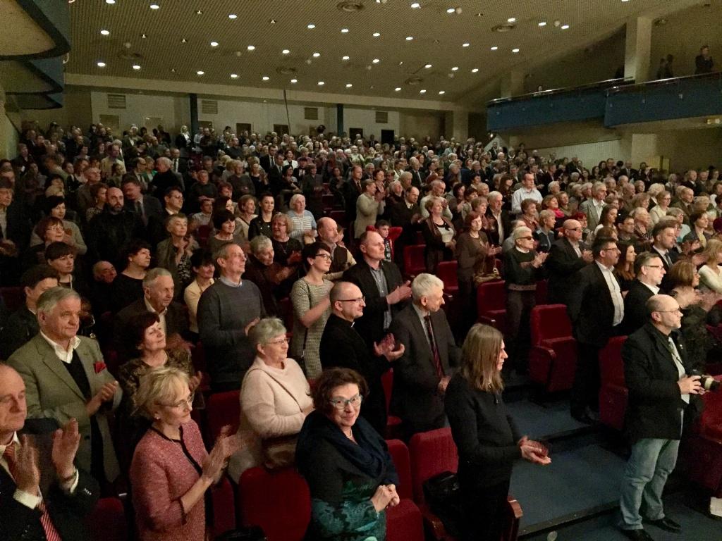"""Licznie zgromadzona publiczność """"Wieczoru Kolęd Wschodniosłowiańskich w Lublinie"""""""