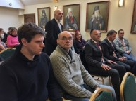 Delegacja z Serbii na wykładzie Archimandryty Stefana Šarića