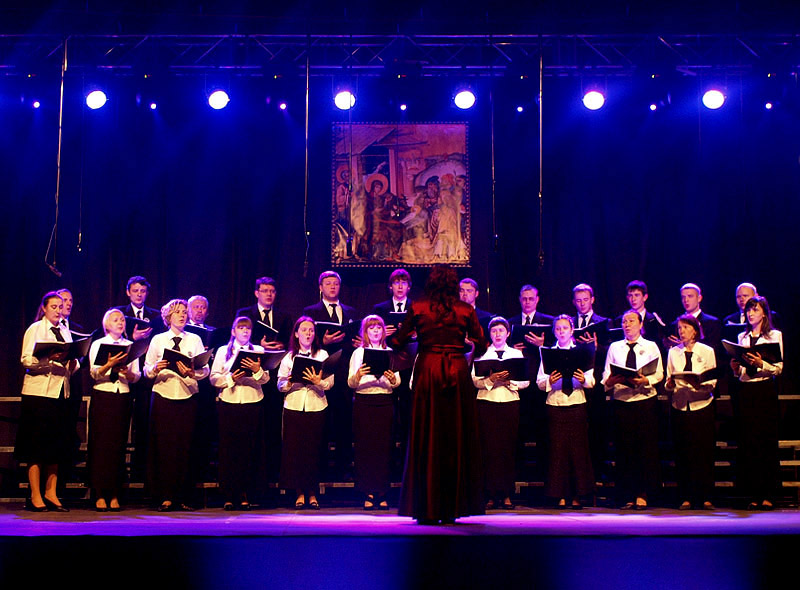 Chór Soboru Zmartwychwstania Pańskiego w Brześciu (Białoruś)
