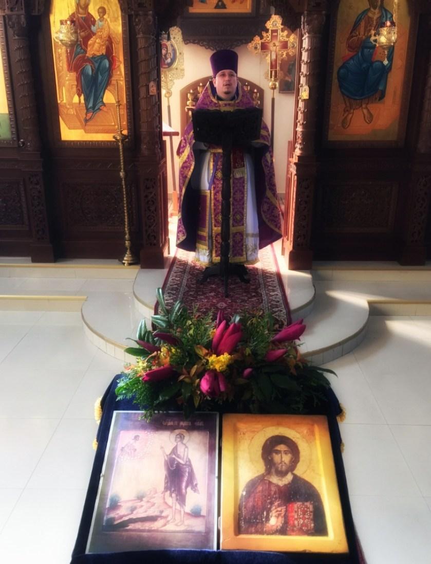 Kazanie w Monasterze w Turkowicach głosi ks. Paweł Janiel