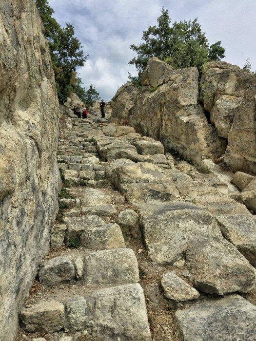 Wejście do starożytnego miasta