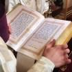 Ewangelię czyta ks. diakona Marek Waszczuk