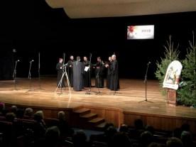 Męski chór KLIROS Diecezjalnego Ośrodka Kultury Prawosławnej ELPIS w Gorlicach