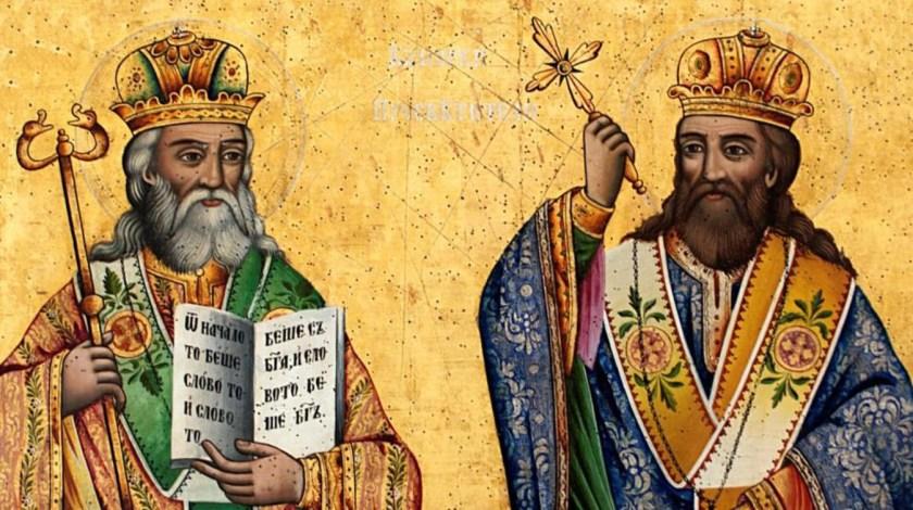 Ikona św. św. Cyryla i Metodego
