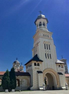 Siedziba Metropolity Alba Iulia abp Ireneusza
