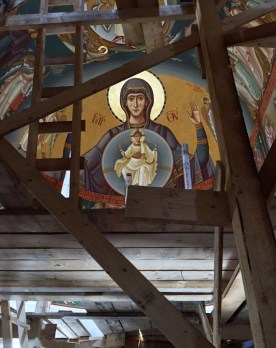 Nowy rozpis monasterskiej cerkwi pw. Świętych Archaniołów Michała i Gabriela w Turda