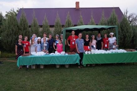 Młodzież z Bractwa naszej diecezji na uroczystościach w Kostomłotach