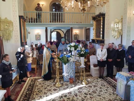 Święto parafialne w Bończy