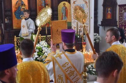 Święto parafialne w Kodniu - św. archanioła Michała 2017 2
