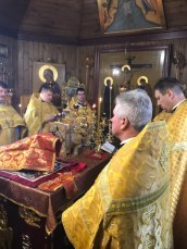 Rekolekcje dekanatu terespolskiego i bialskiego - monaster w Kostomłotach 2017 2