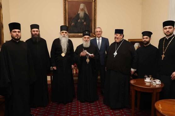 Serbia - przekazanie relikwii 2018