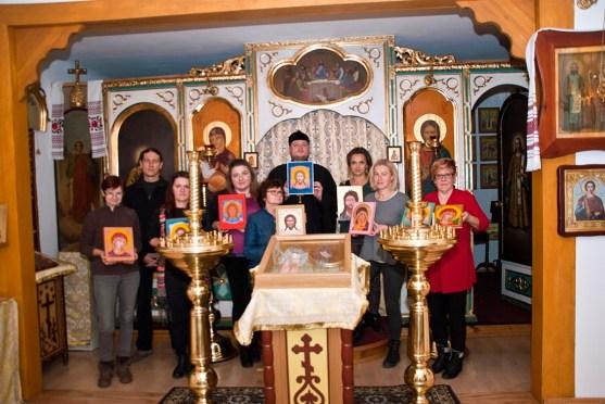 Pisanie ikon w Sandomierzu 2018