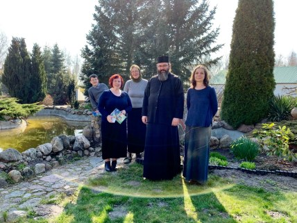Nasi pielgrzymi z Ihumenem Makarym