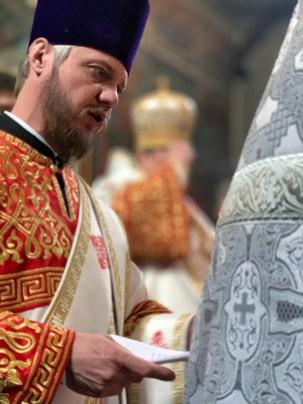 Panichida w niedzielą Antypaschy w lubelskiej katedrze