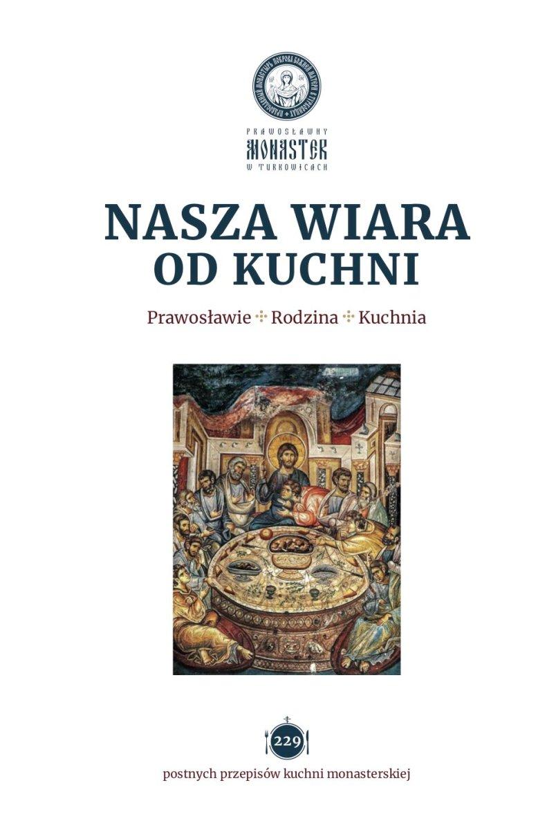 """Okładka książki """"Nasza wiara od kuchni"""""""