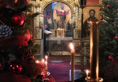 Ikona Bożego Narodzenia na prestole lubelskiej katedry