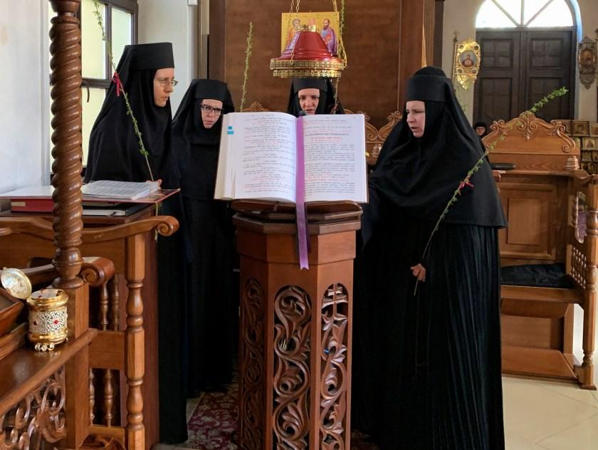 Boska Liturgia na Niedzielę Palmową w Turkowicach