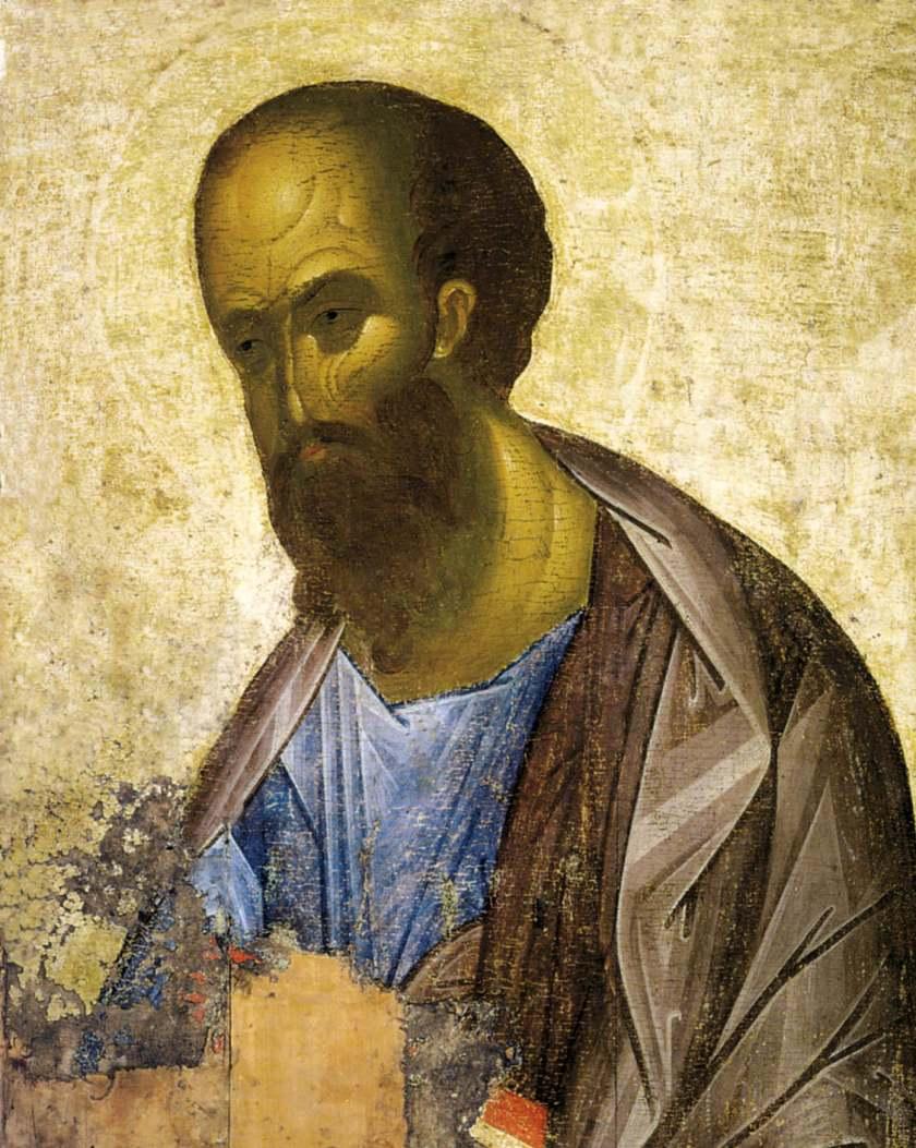 Św. Apostoł Paweł - wg Andreja Rublowa