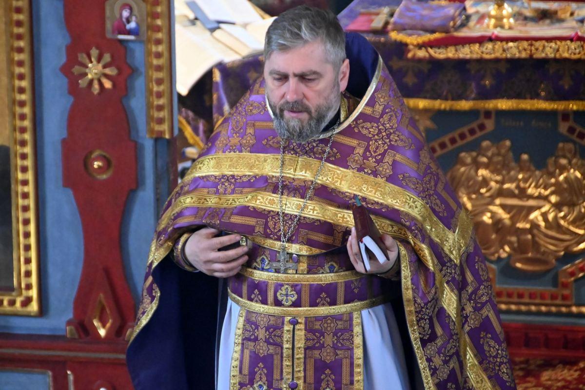 Święto Triumfu Prawosławia w cerkwi w Horostycie