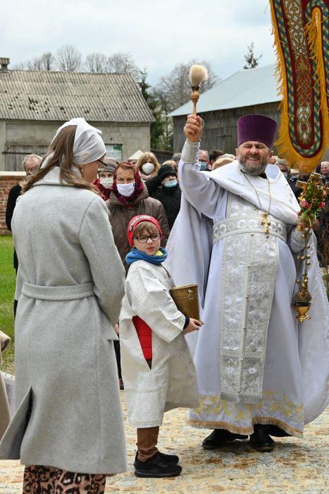 Drugi dzień Paschy w Horostycie