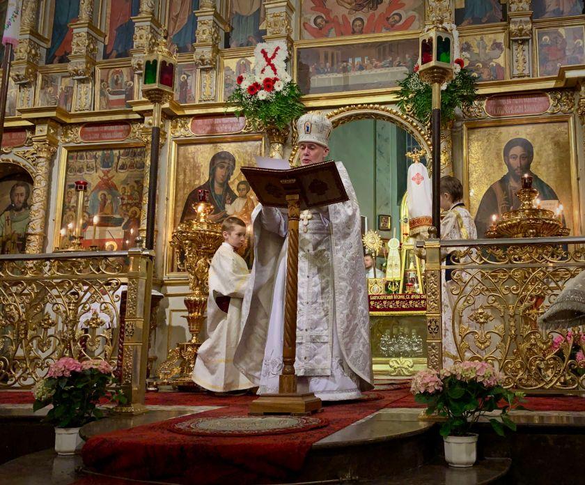 List paschalny Św. Soboru Biskupów