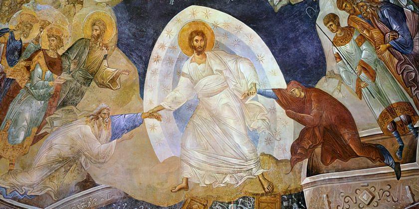Zmartwychwstanie Pańskie - fresk