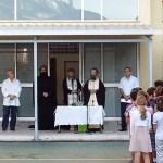 Τρίπολη: Οι εφημέριοι του Ι. Ν. Αγ. Βασιλείου κοντά στους μικρούς μαθητές