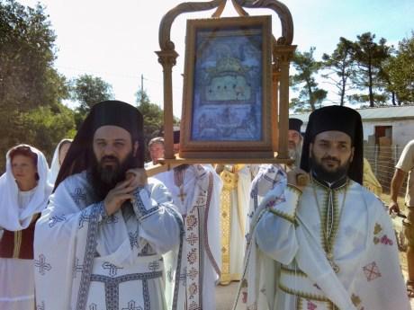 Η Ιθάκη εόρτασε την προστάτιδα της Παναγία των καθαρών.
