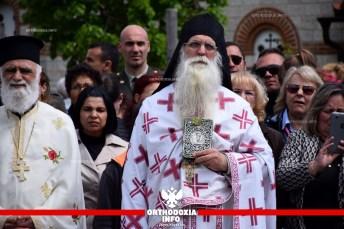 ΟΡΘΟΔΟΞΙΑ INFO Ι Το πανηγύρι της μονής Αγ. Ραφαήλ στη Γρίβα Γουμένισσας- Λιτανεία με τα Χάλκινα