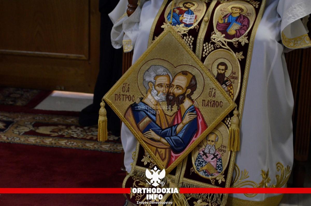 Αρχιερατικό συλλείτουργο στους Αγίους Αποστόλους Πεύκης 3