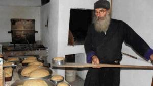 Aγιορείτικες Μοναστηριακές Συνταγές: Το Αγιορείτικο ψωμί