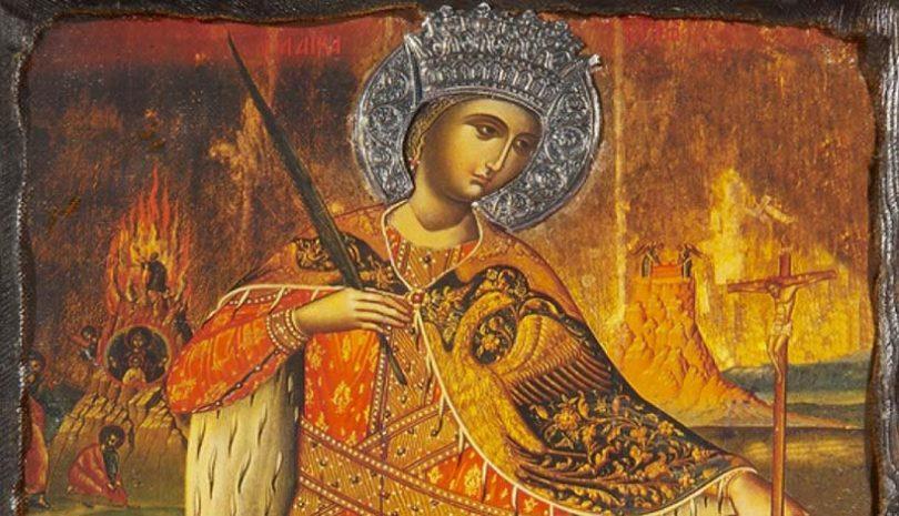 Αγία Αικατερίνη   Η νεαρή που αποστόμωσε τους φιλοσόφους