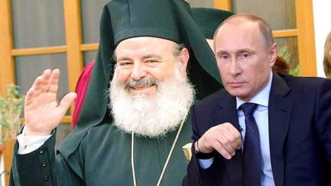 Αρχιεπίσκοπος Χριστόδουλος και Βλάντιμιρ Πούτιν
