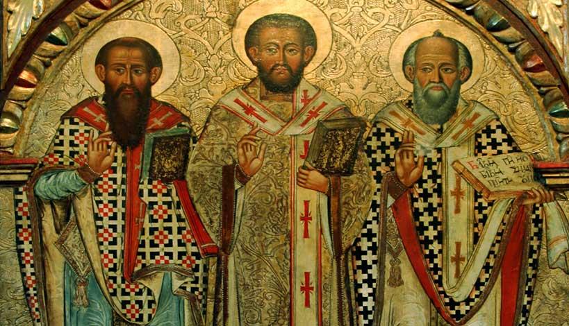 Ορθόδοξος συναξαριστής 30 Ιανουαρίου, των Τριών Ιεραρχών