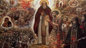 Ο Όσιος Σέργιος του Ραντονέζ συλλειτουργούσε παρέα με έναν άγγελο