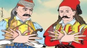 Αλβανοί σκίτσο